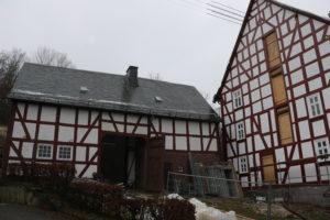 Fassadenerneuerung Alte Vogtei Januar 2021