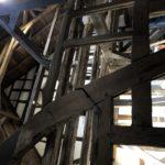 Baufortschritte Zehntscheune Februar 2021