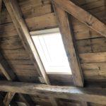 Die ersten Lichtblicke im Dachgeschoß